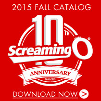 SCREAMING O CATALOG 2015