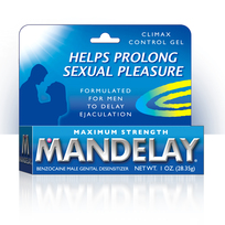 MANDELAY CLIMAX CONTROL GEL 1 OZ