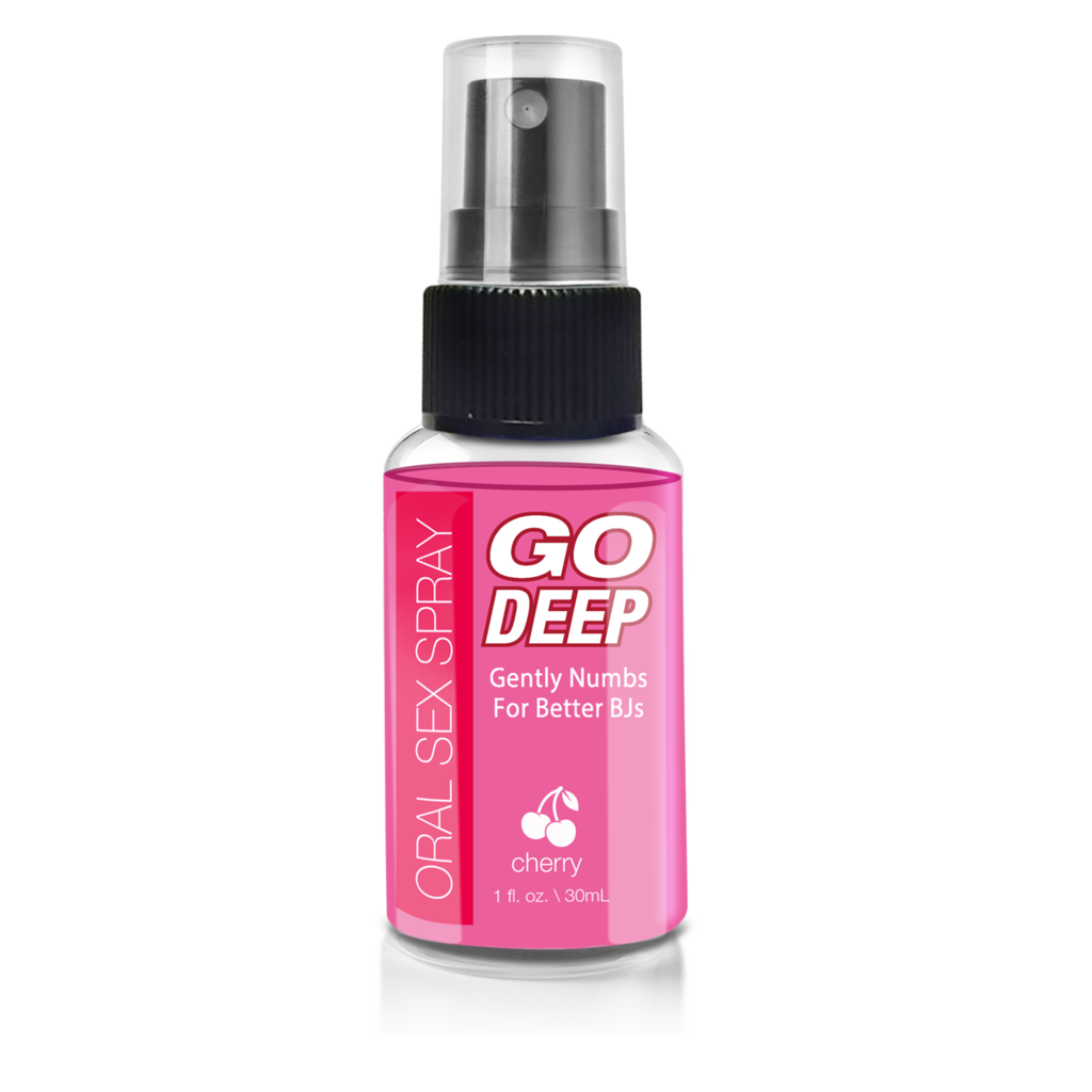 GO DEEP ORAL SEX SPRAY CHERRY 1 OZ