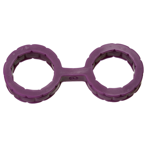 SILICONE CUFFS SMALL PURPLE