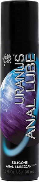WET URANUS SILICONE BASED ANAL LUBE 1 OZ